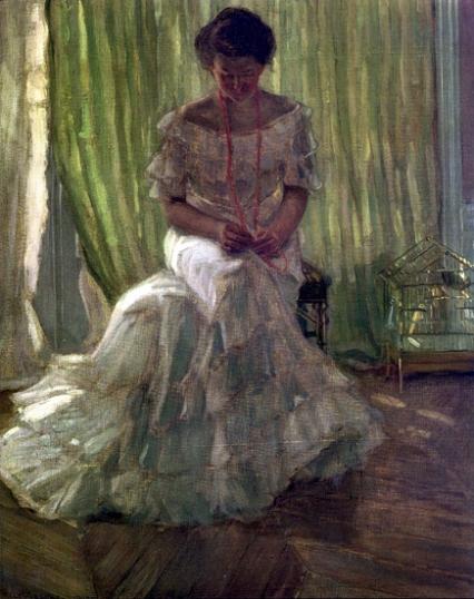 Medora Clark At The Clark Apartment, Paris