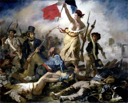 Liberty Leading the People 1830