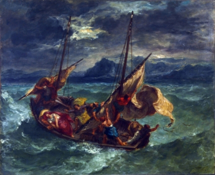Christ on the Sea of Galilee 1854