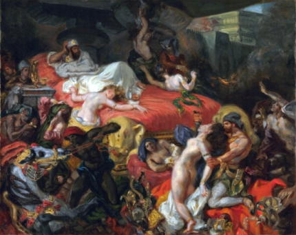 The Death of Sardanapalus 1844