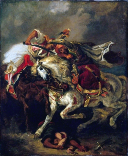 Combat of the Giaour and Hassan 1835