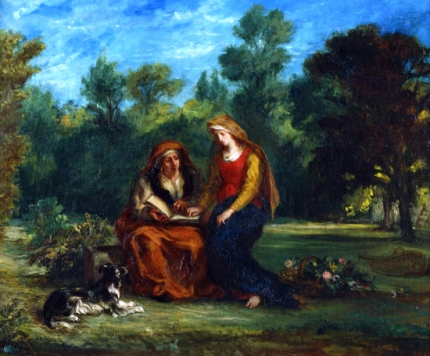 The Education of the Virgin 1852