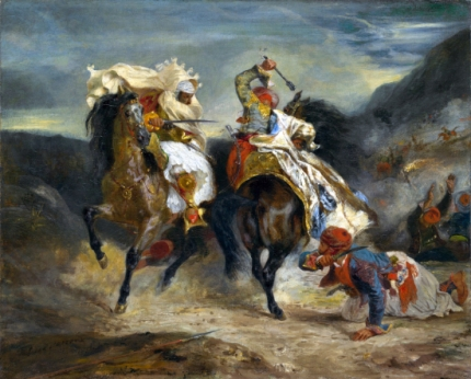The Combat of the Giaour and Hassan 1826