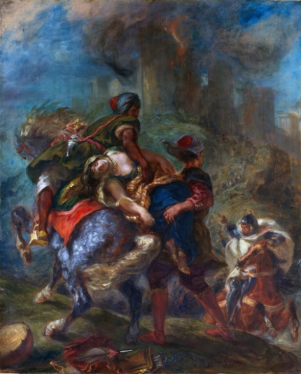 The Abduction of Rebecca 1846