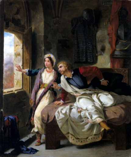 Rebecca and the Wounded Ivanhoe 1823