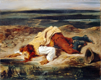 Wounded Brigand 1825