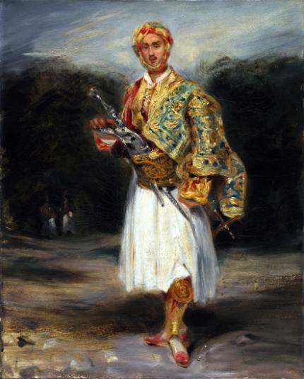 Count Demetrius De Palatiano in Suliot Costume 1800