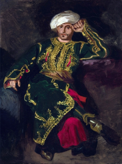 Seated Figure in Turkish Costume