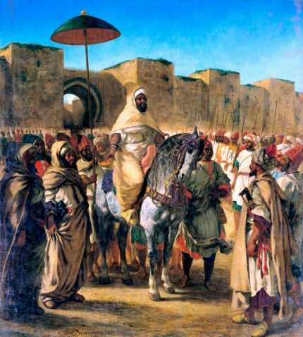 The Sultan of Morocco