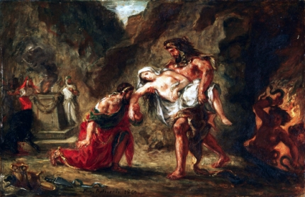 Hercules and Alcestis 1862