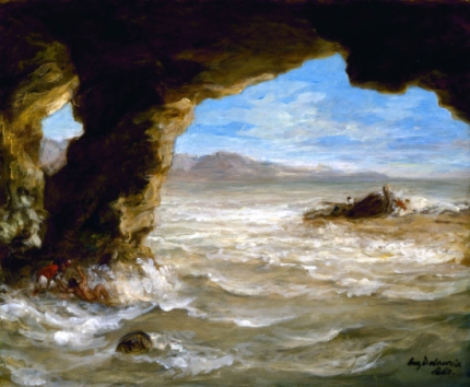 Shipwreck on the Coast 1862