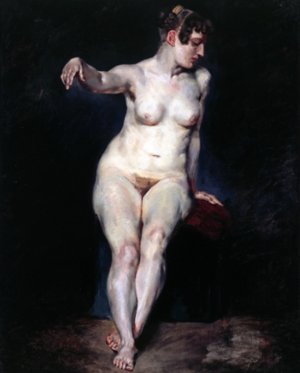 Seated Nude (Mademoiselle Rose) 1820