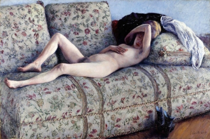 Nude on a Couch 1880