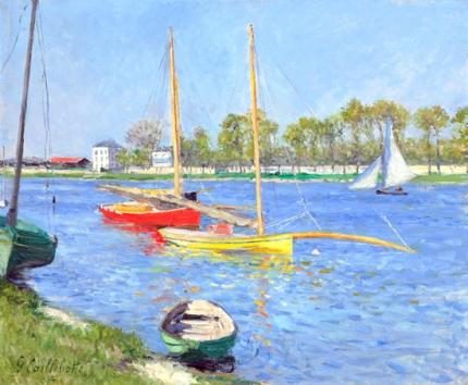 La Seine à Argenteuil 1882