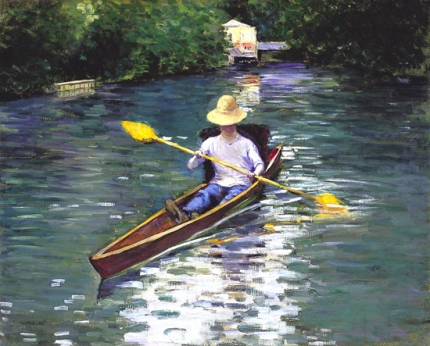 Canoe on the Yerres River 1878