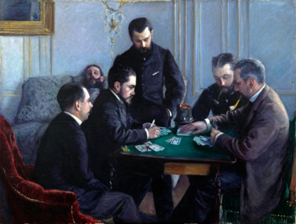 A Game of Bezique 1881