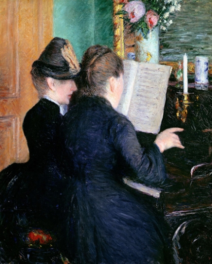 The Piano Lesson 1879