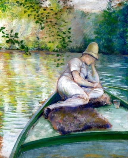 Canotier Sur L'yerres 1877