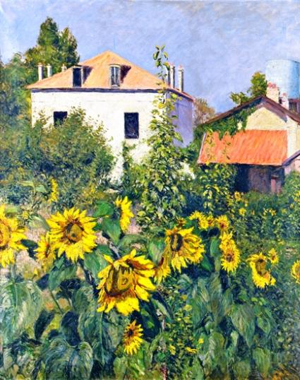 Sunflowers, the Garden in Petit-Gennevilliers