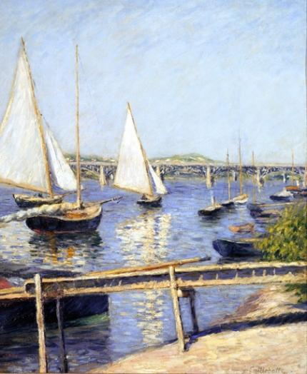 Sailing Boats at Argenteuil 1888