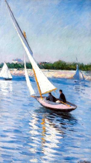 Voiliers Sur La Seine à Argenteuil 1893
