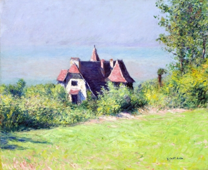 Une Villa à Trouville 1882
