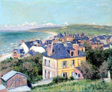 By the Sea at Trouville 1884