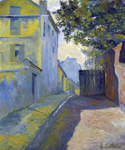 Rue Du Mont-Cenis, Montmartre 1880