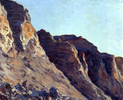 Cliff at Villers-Sur-Mer 1880
