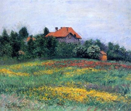Norman Landscape 1884