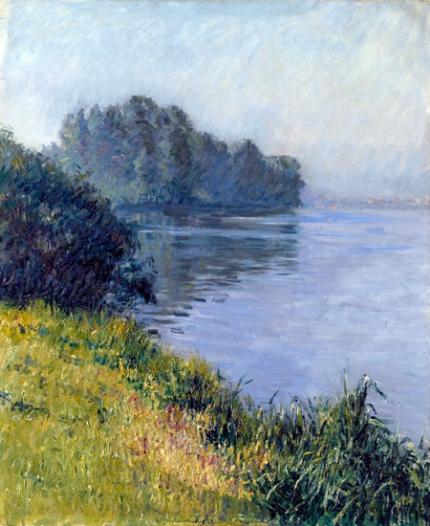 La Seine à L'île Marante Par Temps Brumeux 1891