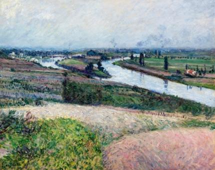 La Seine à La Pointe D'epinay 1888