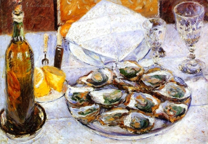 Still Life with Oysters 1881