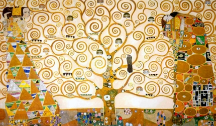 The Stoclet Frieze Tree of Life