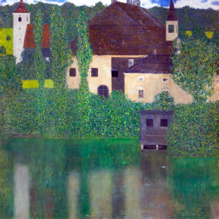 Water Castle (Kammer Chateau Near Attersee I) 1908
