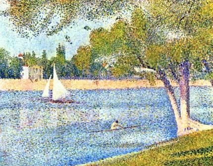The River Seine At La Grande-Jatte