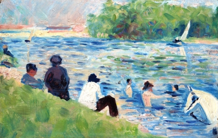 Study For Bathers At Asnières
