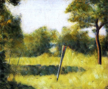 Landscape With A Stake