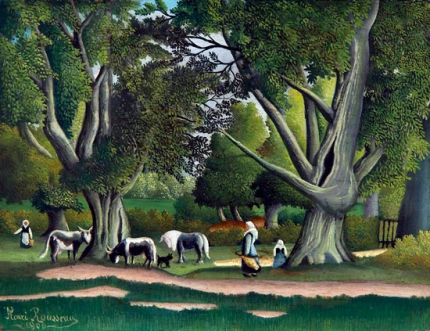 Landscape With Milkmaids (View of Brittany)