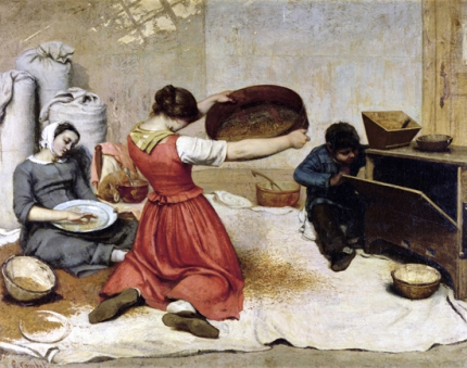 The Wheat Sifters 1854