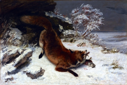 Fox in the Snow 1860