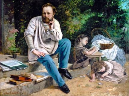 Pierre-Joseph Proudhon Et Ses Enfants