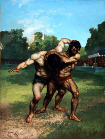 The Wrestlers 1853