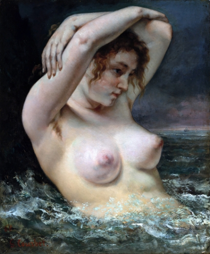 The Woman in the Waves 1868