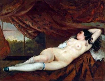 Femme Nue Couchée 1862