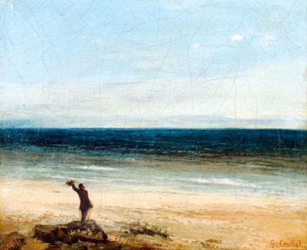 The Seaside at Palavas 1854
