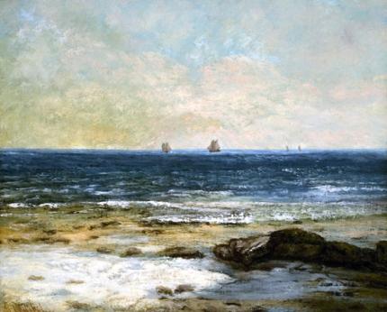 Les Bords De La Mer À Palavas 1854