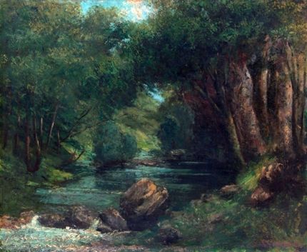 A Brook in the Forest