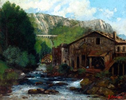 A Mill in a Rocky Landscape