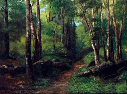 Path Through the Forest 1860